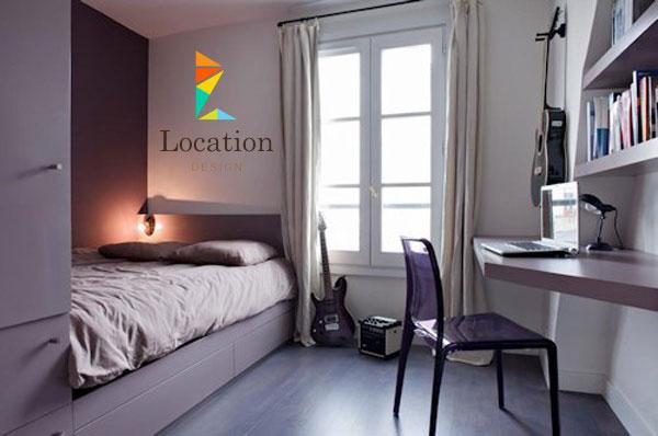 : غرف نوم بنات بسيطة وصغيرة : غرف